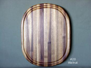 Oval Meat Carving Board